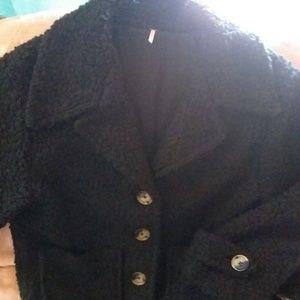 Jackets & Blazers - NWOT Free People Peacoat
